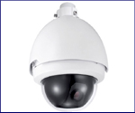 IP PTZ Infrared Dome