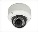 3 Mega Dome Cameras: IP 720 Dome