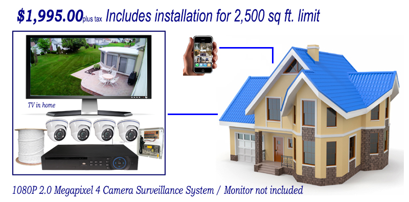 4 Camera package Home